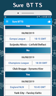 Download BTTS Both Teams To Score - Bet Predictions For PC Windows and Mac apk screenshot 2