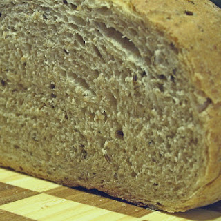 Stone-Ground Rye Bread with Caraway
