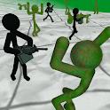 Stickman Zombie 3D icon
