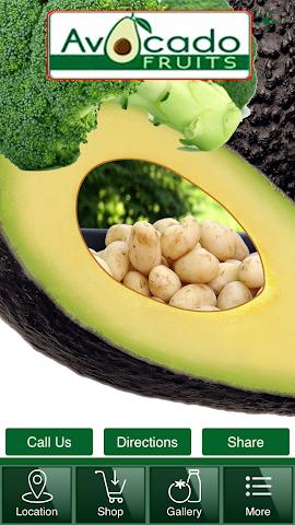 android Avocado Fruits Screenshot 0