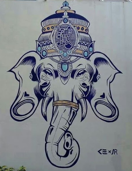 0960e7fbec66b 50 Beautiful Ganesha Tattoos designs and ideas With Meaning