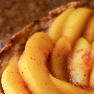 Grain Free Peach Tart