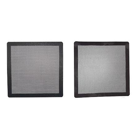 Magnetisk filter 140mm, firkantet, sort
