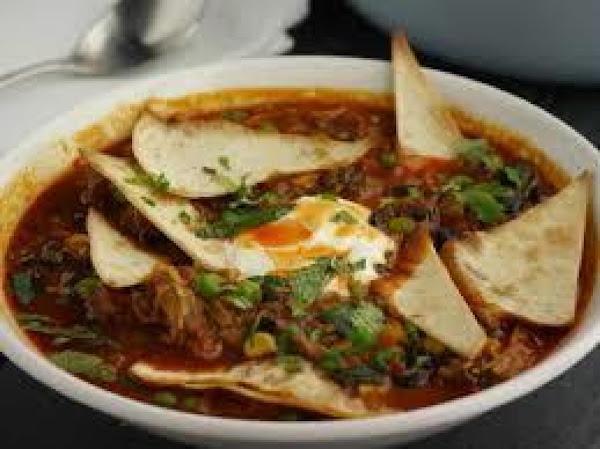 Ancho Chicken Tortilla Soup Recipe