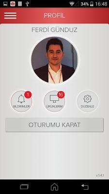 Vestel Mobil Asistan - screenshot