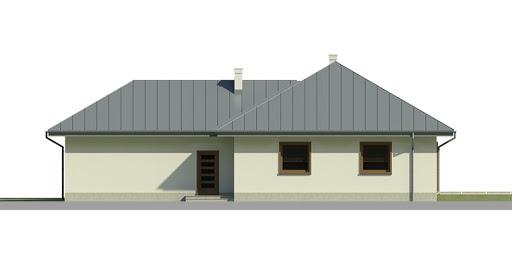 Dom przy Jaśminowej 2 - Elewacja tylna