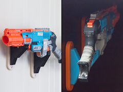 Nerf Blaster Wall Mount