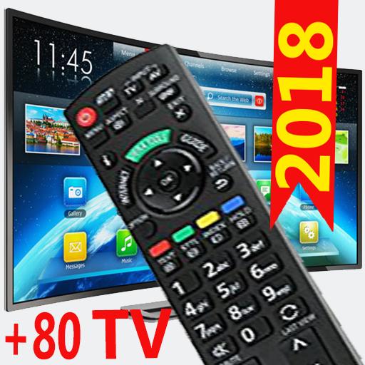 Free remote 2 control for all tv 2018 Icon