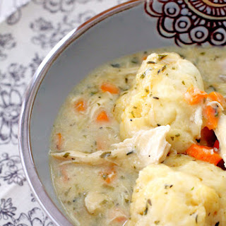 Simply Delicious Chicken and Dumplings.