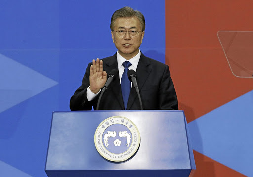 South Korean President Moon Jae-in. Picture: REUTERS