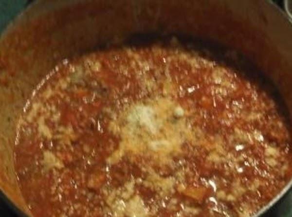 Spaghetti Sauce With A Surprise Recipe