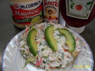 Mexican Crab Tostadas  (tostadas De Jaiba) Recipe