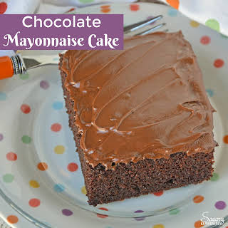 Grandma's Chocolate Mayonnaise Cake.
