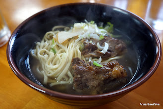Photo: Soba with ribs