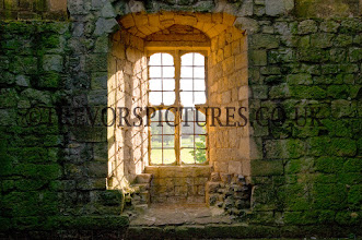 Photo: HELMSLEY CASTLE FROM THE INSIDE