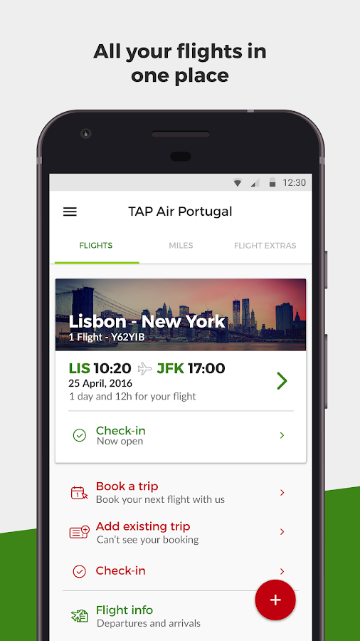 TAP Air Portugal- screenshot