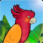 孩子的彩图:丛林鸟 icon