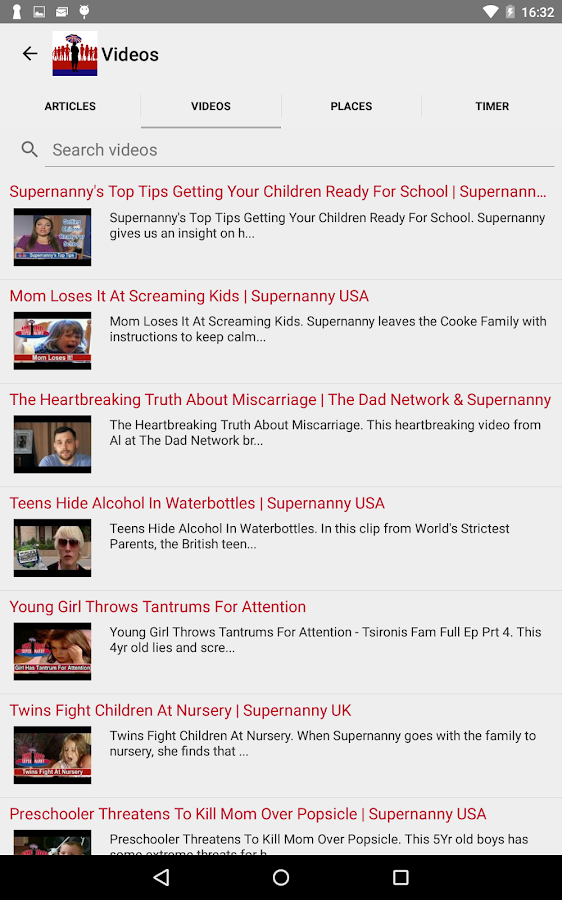 Supernanny Parenting- screenshot