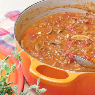 Italian Gravy (Spaghetti Sauce).