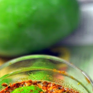 Tender Mangoes Pickle Without Oil
