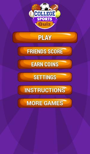 玩免費益智APP|下載칼리지 스포츠의 재미 무료 하찮은 일 퀴즈 app不用錢|硬是要APP