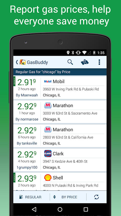 GasBuddy - Find Cheap Gas- screenshot