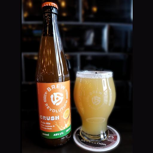 Crush - Citrus Pale Ale (with lactose) - 500ml bottle - 5% ABV