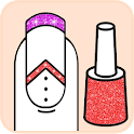 Nails Coloring Book and Fashion Drawing Pages icon