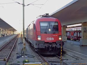 "Photo: 1116 161-9 (OeBB), TLK ""Chopin"" Warszawa Wschodnia - Wien Westbf {Wien Westbf; 2013-08-17}"