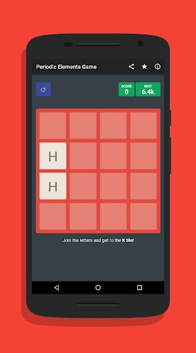 2048 Periodic Elements Game ud83dudd2c 1.0.2 screenshots 1