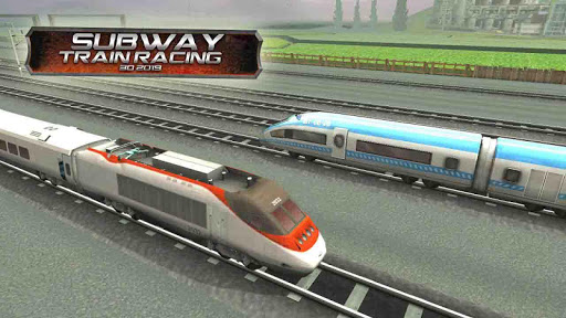 Subway Train Racing 3D 2019 ss1
