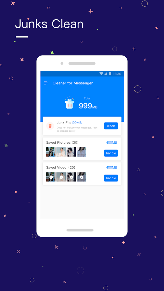 Cleaner for Messenger Android 2