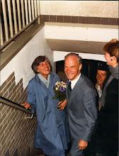 Photo: Binnenkomst van de heer en mevrouw Loeff