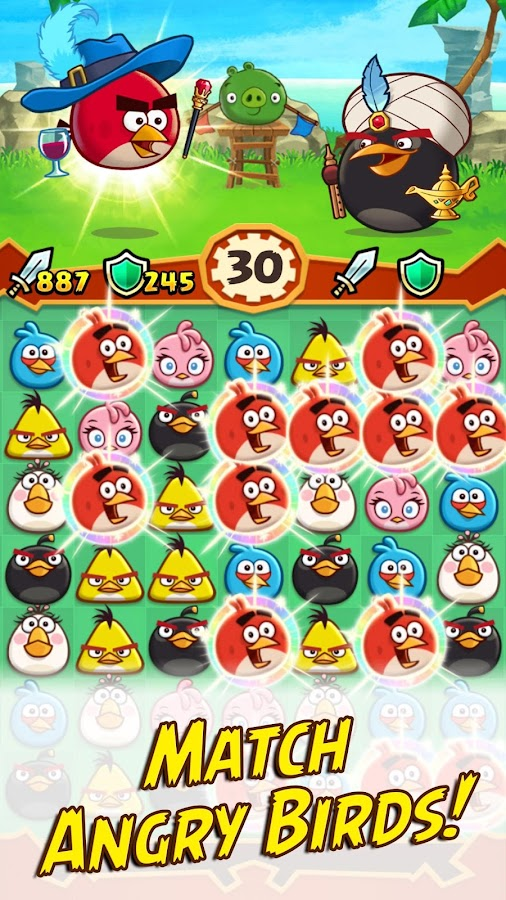 Angry Birds Fight! RPG Puzzle- screenshot