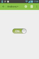 Screenshot of AndroRec Free Call Recorder