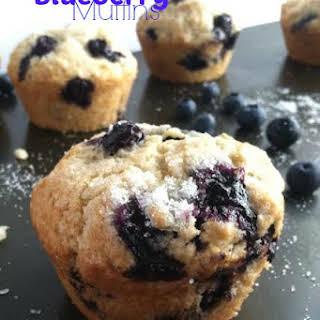 Amazing Blueberry Muffins - Vegan.