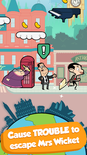 Permainan Mr Bean™ - Around the World (APK) percuma muat turun untuk Android/PC/Windows screenshot