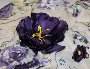 Photo: Цветы из ткани - для Лены