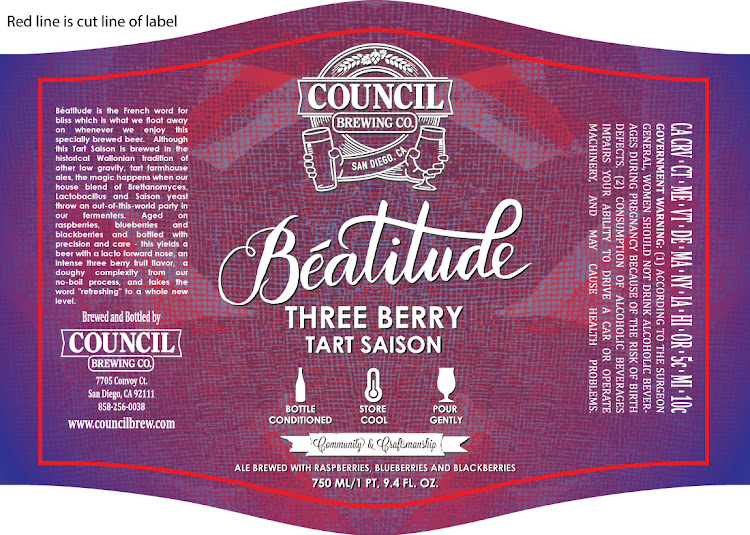 Logo of Council Beatitude Three Berry Tart Saison