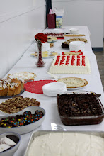 Photo: Sunday, Feb 17/13 - some of the items on the dessert table