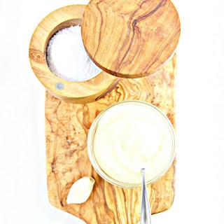 Creamy Garlic Aioli.