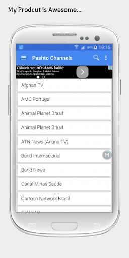 Pashto TV sat info