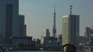 Photo: Tokyo tower from Tokyo bay