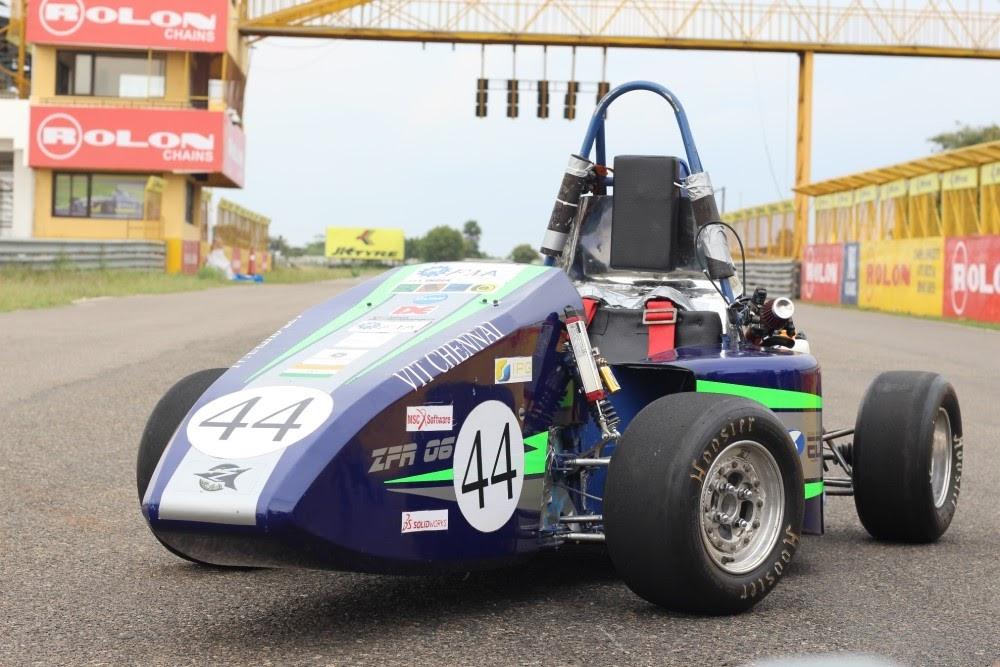 ANSYS | ZFR-06 – автомобиль команды Zuura Formula Racing