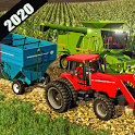 Farming Drive Tractor Trolley Offroad 2020 icon