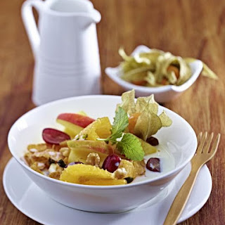Muesli with Fruit and Nuts.