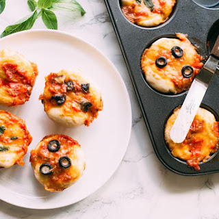 Muffin Pan Deep-Dish Pizzas