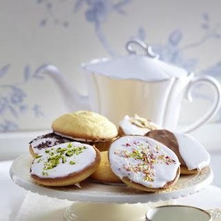 Iced Sugar Cookies.