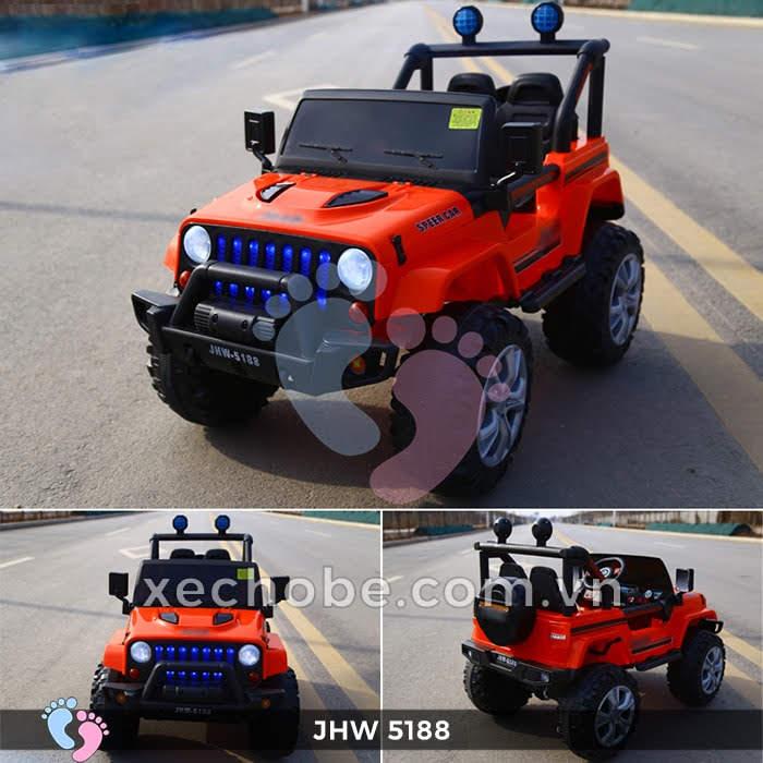 Xe ô tô điện 4 động cơ JHW5188 8