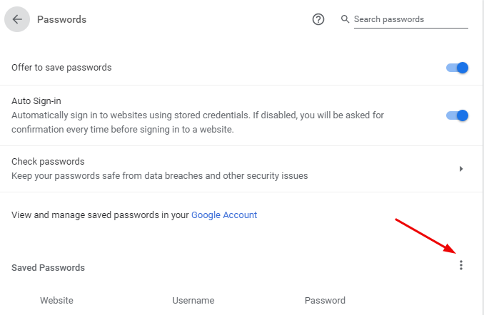 How to Import and Export Passwords in Chrome 13